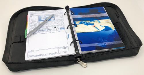 Detailed and specialised knowledge on the famous red sea wrecks at your fingertips in your dive log binder.