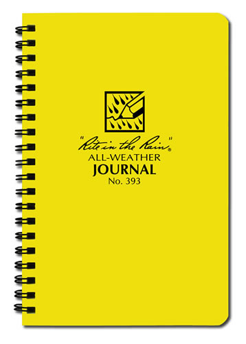 The rite in the rain all weather polydura spiral bound journal