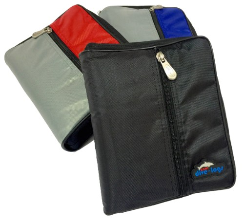 The starter packs are available for our Blue, Red, and Black  dive log binders